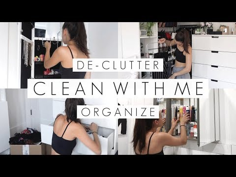 CLEAN MY NYC APARTMENT WITH ME || ORGANIZE AND DE-CLUTTER || BeautyChickee