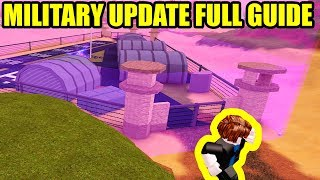 *FULL GUIDE* New MILITARY BASE UPDATE | HOW TO ESCAPE NEW PRISON | Roblox Jailbreak