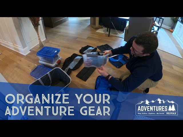 Adventure Gear Storage Idea   Soft Cube Bags