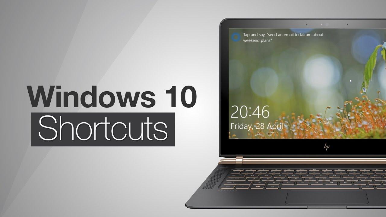 windows 10 video player keyboard shortcuts