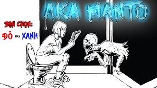 Aka Manto - Truyền Thuyết Kinh Dị Nhật Về Con Quỷ Áo Đỏ Trong Nhà Vệ Sinh