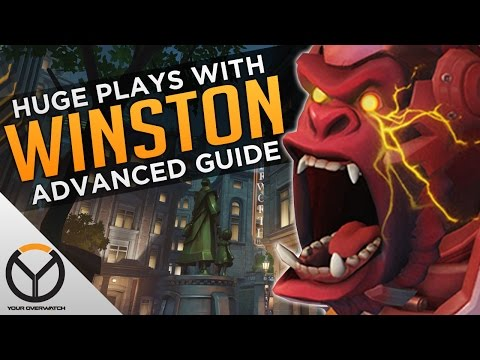 Overwatch: Advanced Winston Guide - MAXIMUM MONKEY!