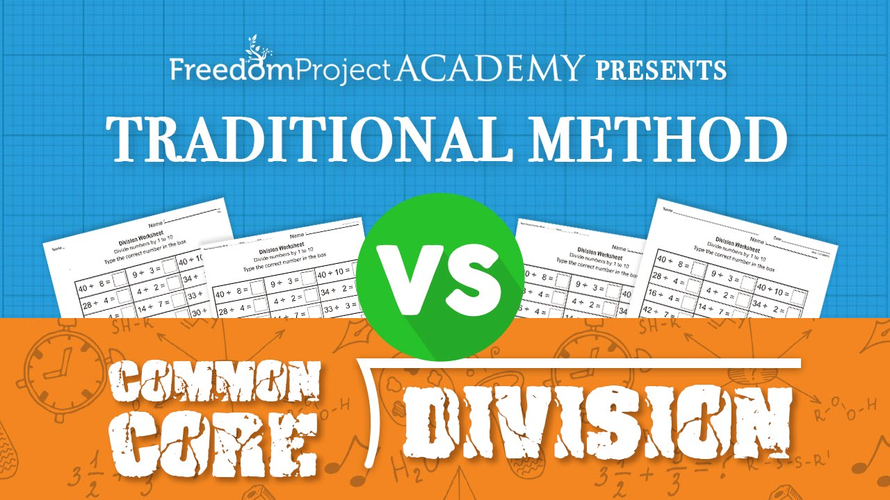 Traditional Method vs. Common Core (Division) - YouTube