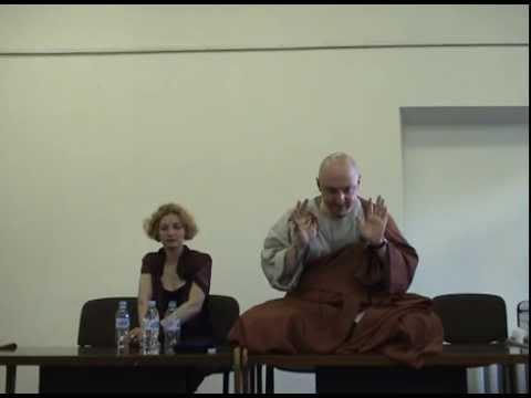 Hyon Gak Sunim Dharma Talk, Vilnius, Lithuania, 2010 07 16