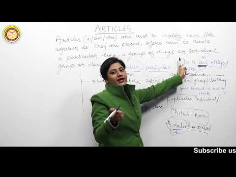 |Best Explanation of Articles| By Priya Gupta  in RYP 7300 English | Useful for SSC I BANKING I KVS