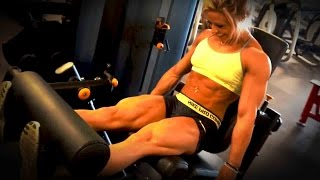 Repeat youtube video Dani Reardon - Training Legs 6 Days Out