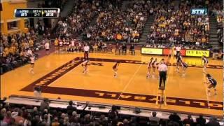 2011 Gopher Volleyball Season Highlight Video