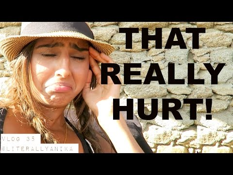 TRAVEL VLOG 35- THAT REALLY HURT!  What NOT to do in Greece