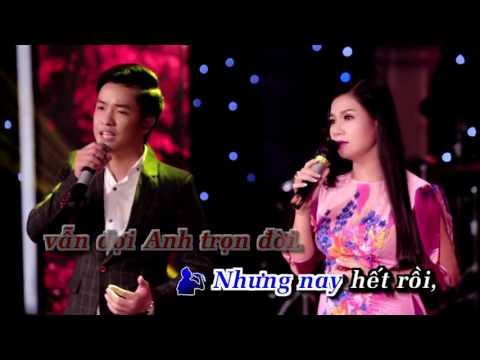 Karaoke Không Bao Giờ Quên Em _  Song Ca Với Cẩm Tiên