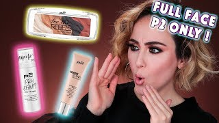 FULL FACE USING ONLY P2 PRODUCTS | 😵 I´M SHOCKED | Drogerie Makeup  Hatice Schmidt