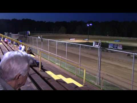 Baton Rouge Raceway mini stock May 21 Heat Race 1