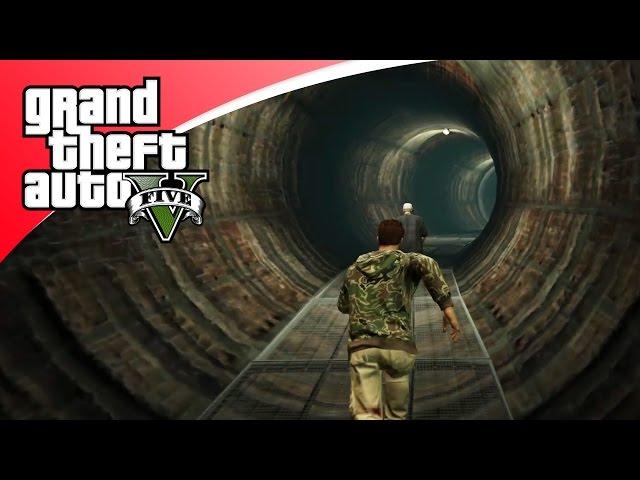 GTA V Hunting Game #9 - DOMSTE VERSTOP PLEK OOIT!
