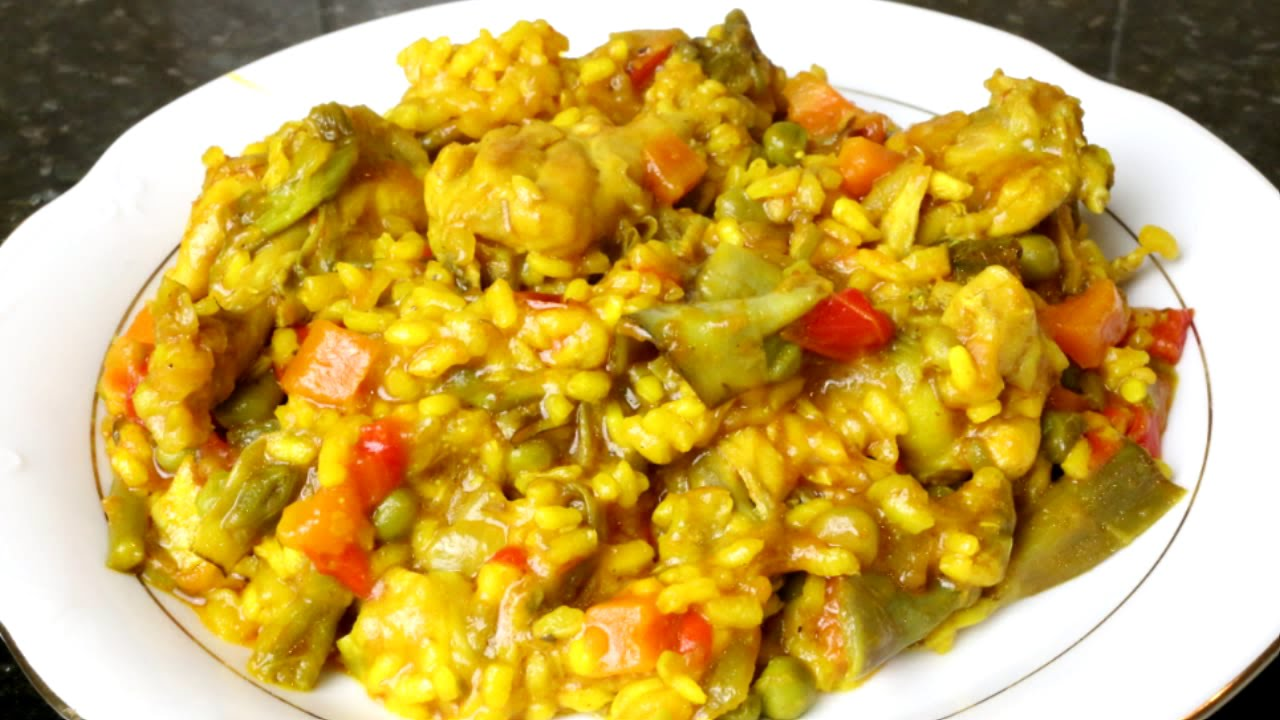 Arroz con pollo youtube - Arroz en blanco con pollo ...