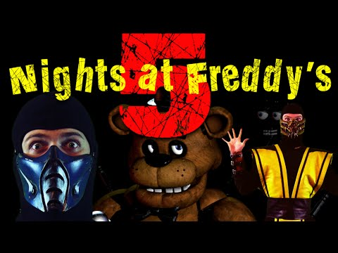 MK Lets Play - Five Nights at Freddy's (Scorpion vs Sub Zero Gameplay)