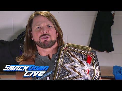 AJ Styles has a Survivor Series spoiler for Brock Lesnar: SmackDown LIVE, Nov. 6, 2018
