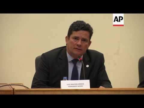 Brazil's anti-corruption judge visits Portugal
