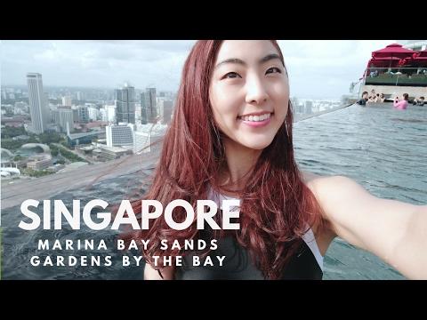 Singapore Travel Vlog 1 l Marina Bay Sands & Gardens By The Bay 싱가폴여행 마리나베이샌즈, 가든스바이더베이