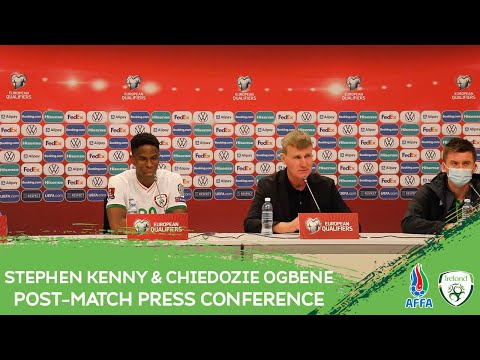 POST MATCH PRESS CONFERENCE | Stephen Kenny & Chiedozie Ogbene