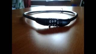 Как открыть кодовый велосипедный замок!!! | How to open a bike lock code !!!