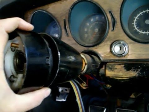 68 GTO turn signal switch replacement - YouTube