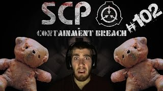 SCP Containment Breach | Part 102 | New Update 1.2.2 + Meat Bear! w/ Facecam Reactions!