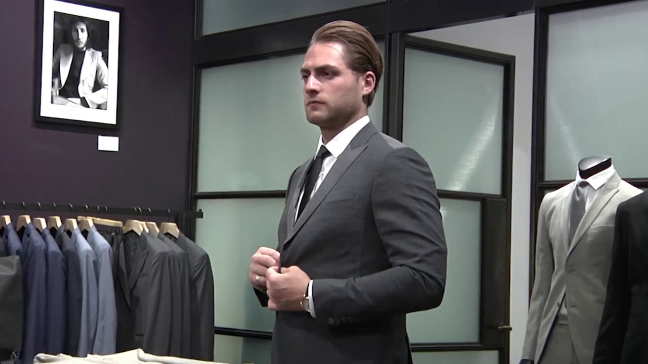 Braden Holtby Suit Shopping At 2017 Nhl Awards Youtube