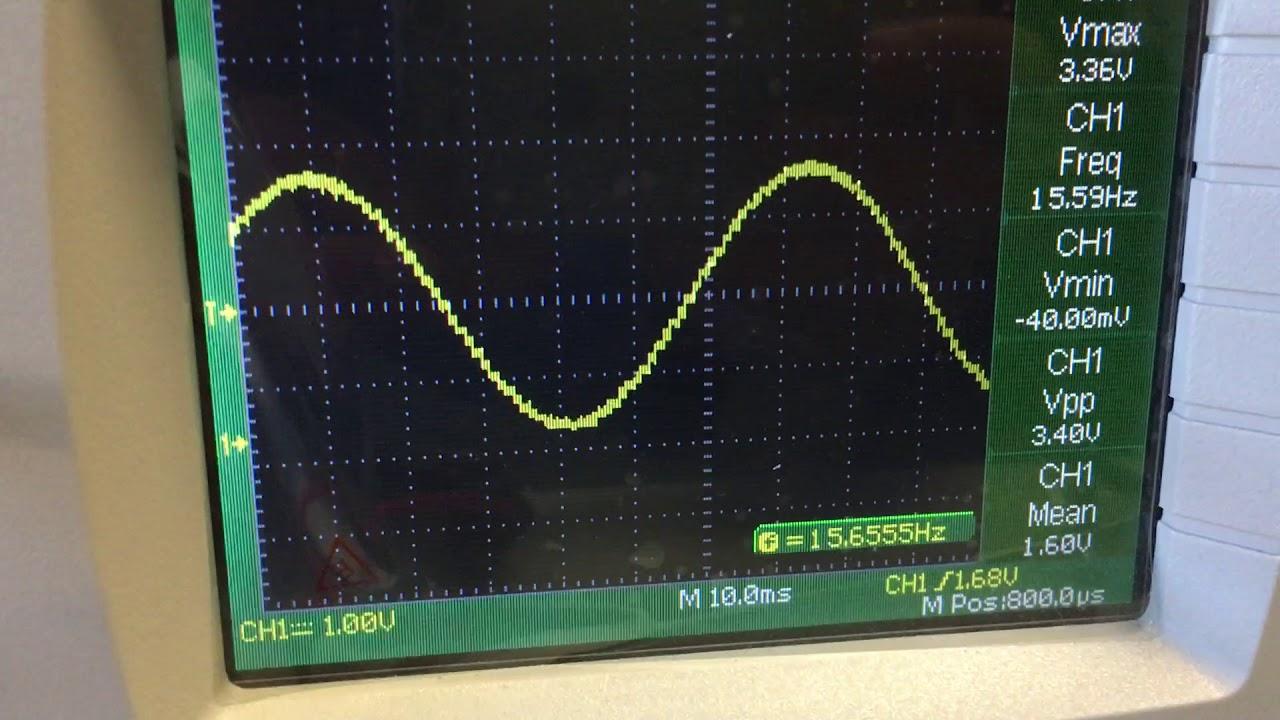 fpga sine wave R-2R DAC