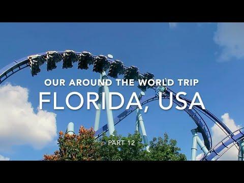 FLORIDA   AROUND THE WORLD   TRAVEL DIARY pt. 12   passportstamps.uk