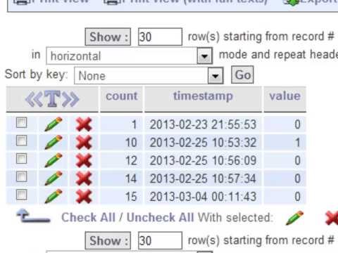 How to Create and Use a timestamp
