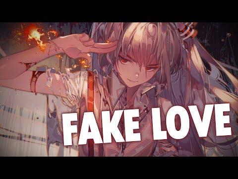 nightcore---fake-love-(lyrics)
