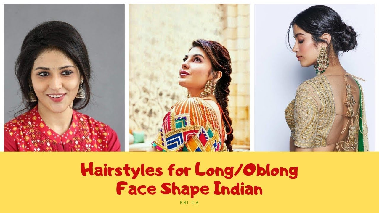 Hairstyles For Long Oblong Oval Face Shape Female Indian 2019 Oblong Face Shape Hairstyles Kri Ga Youtube