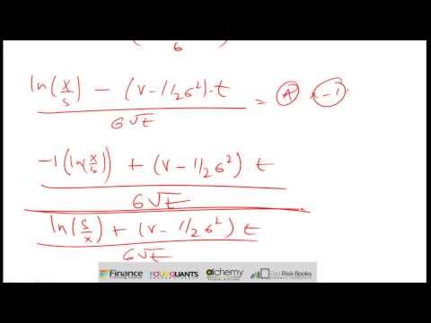 Black Scholes Analysis for dummies - Understanding Nd2