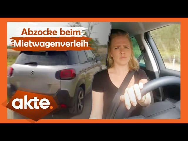 Abzocke beim Mietwagenverleih - Vorsicht vor der Betrugsmasche!   Akte   SAT.1
