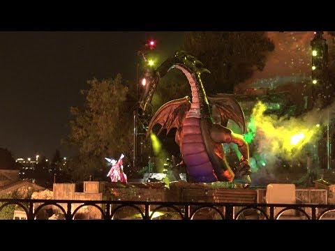 Fantasmic! 2.0 at Disneyland Park, 4K ULTRA HD, First Performance July 15 2017