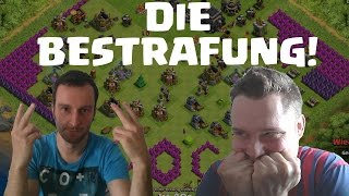 DIE BESTRAFUNG! || CLASH OF CLANS || Let's Play Clash of Clans [Deutsch/German HD]