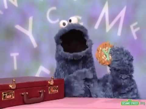 sesame street letter of the day sesame cookie s letter of the day y 10711 | hqdefault