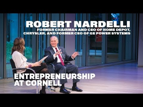 Robert Nardelli, Former Chairman & CEO of Home Depot, Chrysler, & former  CEO of GE Power Systems