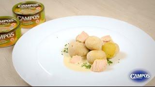Patatas aliñadas con mojo de Atún Claro Campos