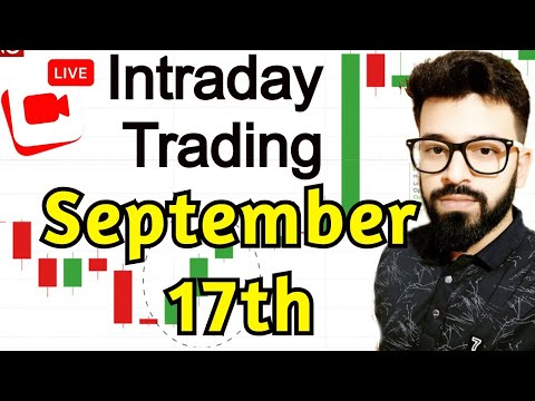 17th September Live Intraday Trading #banknifty #scalping #livetrading