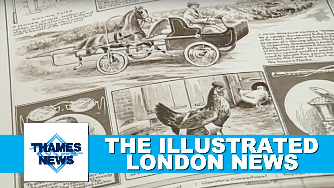 The Illustrated London News (1800's) | Thames News Archive Footage