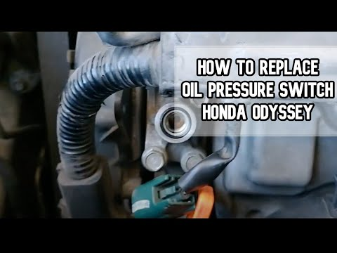 How to replace oil pressure switch DIY video | Honda Odyssey #oil #switch #diy