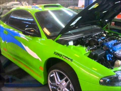 The Fast And The Furious Mitsubishi Eclipse Tuning Youtube