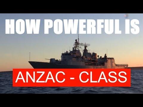 FACTS ABOUT ANZAC CLASS | AUSTRALIA NEW ZEALAND FRIGATE