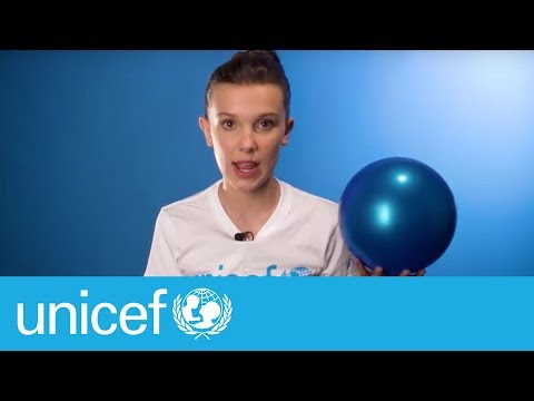 Join Millie Bobby Brown this World Children's Day   UNICEF