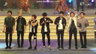 151003 TVB J2:  National Day Youth Concert - #인피니트 Bad + Ending