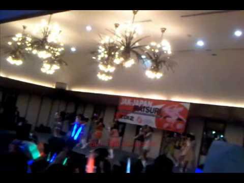 [FANCAM] JKT48 - Ponytail to Shushu at Jak-Japan Matsuri 23.09.2012 Part 2