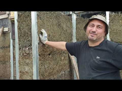 Строю дом из арболита - монолита своими руками. Часть 3. Глаза боятся - руки делают.