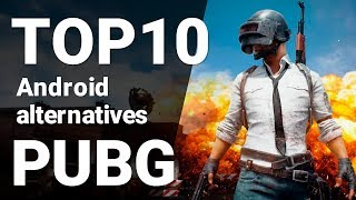 Download TOP 10 Games like PUBG for Android 2018 [1080p/60fps]