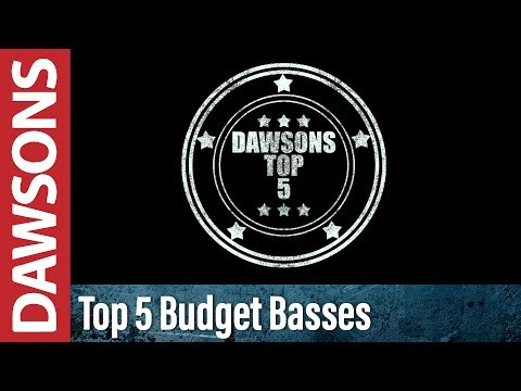 Download Youtube: Top 5 Budget Bass Guitars