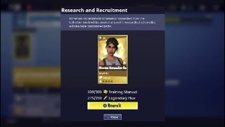 Easiest Way to Unlock Mythic Heroes! Recruiting in Collection Book! Fortnite Save the World v4.5